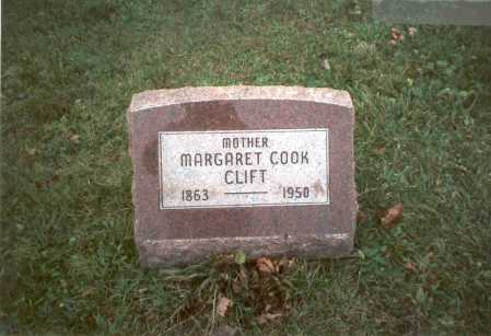 HARRIS COOK, MARGARET - Pickaway County, Ohio | MARGARET HARRIS COOK - Ohio Gravestone Photos