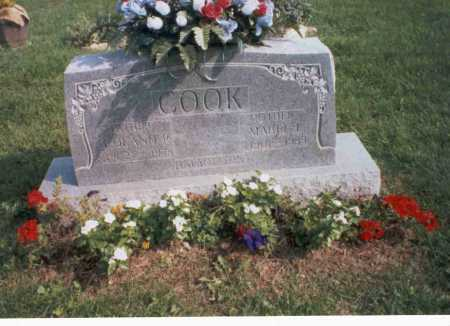 BROWN COOK, MABEL L. - Pickaway County, Ohio | MABEL L. BROWN COOK - Ohio Gravestone Photos