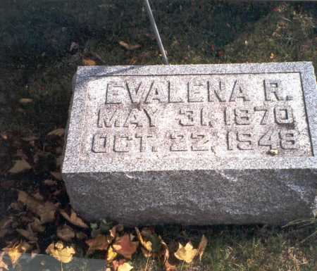 COURTRIGHT, EVALENA R. - Pickaway County, Ohio | EVALENA R. COURTRIGHT - Ohio Gravestone Photos