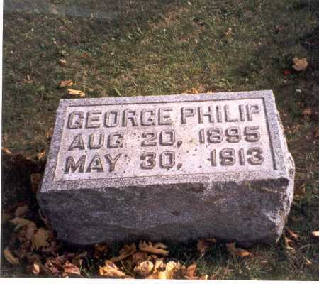 COURTRIGHT, GEORGE PHILIP - Pickaway County, Ohio | GEORGE PHILIP COURTRIGHT - Ohio Gravestone Photos