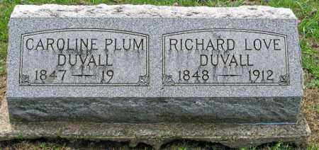DUVALL, RICHARD LOVE - Pickaway County, Ohio | RICHARD LOVE DUVALL - Ohio Gravestone Photos