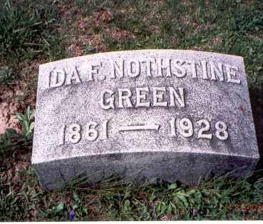 GREEN, IDA F. - Pickaway County, Ohio | IDA F. GREEN - Ohio Gravestone Photos