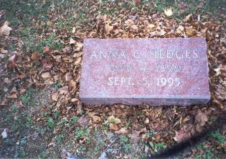 COURTRIGHT HEDGES, ANNA - Pickaway County, Ohio | ANNA COURTRIGHT HEDGES - Ohio Gravestone Photos
