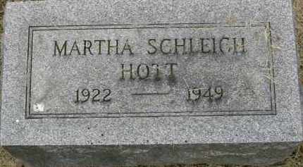 SCHLEICH HOTT, MARTHA ANN - Pickaway County, Ohio | MARTHA ANN SCHLEICH HOTT - Ohio Gravestone Photos