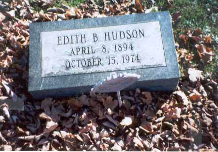SCHLEPPI HUDSON, EDITH B. - Pickaway County, Ohio | EDITH B. SCHLEPPI HUDSON - Ohio Gravestone Photos