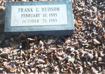 HUDSON, FRANK G. - Pickaway County, Ohio | FRANK G. HUDSON - Ohio Gravestone Photos