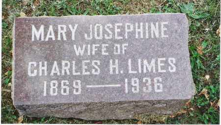"LIMES, MARY JOSEPHINE ""JOSIE"" - Pickaway County, Ohio 