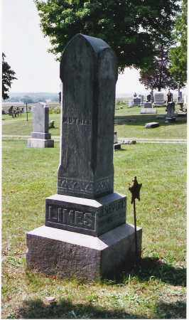 MILLER LIMES, MARTHA ANN - Pickaway County, Ohio | MARTHA ANN MILLER LIMES - Ohio Gravestone Photos