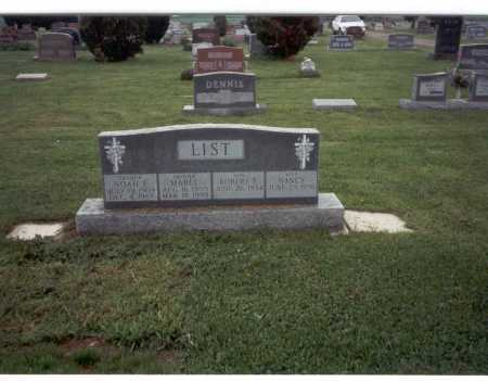 LIST, NOAH E. - Pickaway County, Ohio | NOAH E. LIST - Ohio Gravestone Photos