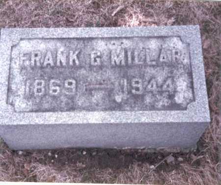 MILLAR, FRANK G. - Pickaway County, Ohio | FRANK G. MILLAR - Ohio Gravestone Photos