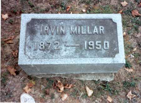 MILLAR, IRVIN - Pickaway County, Ohio | IRVIN MILLAR - Ohio Gravestone Photos