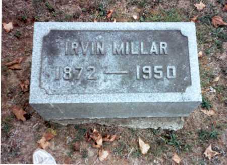 MILLAR, IRVIN - Pickaway County, Ohio | IRVIN MILLAR - Ohio Gravestone Photos
