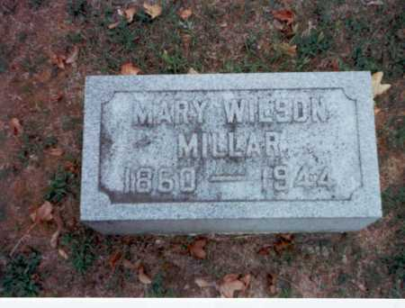 WILSON MILLAR, MARY - Pickaway County, Ohio | MARY WILSON MILLAR - Ohio Gravestone Photos