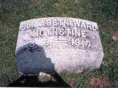NOTHSTINE, ELIZABETH - Pickaway County, Ohio | ELIZABETH NOTHSTINE - Ohio Gravestone Photos
