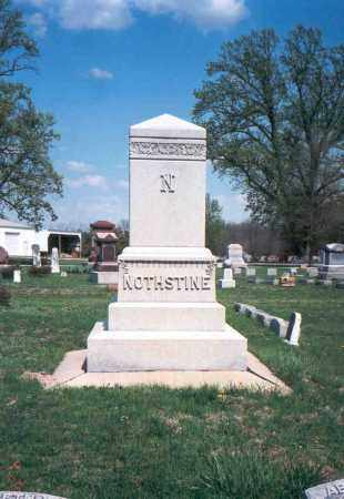 NOTHSTINE, MONUMENT - Pickaway County, Ohio | MONUMENT NOTHSTINE - Ohio Gravestone Photos