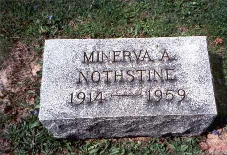 NOTHSTINE, MINERVA A. - Pickaway County, Ohio | MINERVA A. NOTHSTINE - Ohio Gravestone Photos