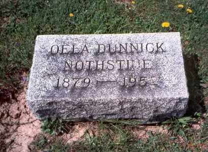 NOTHSTINE, OELA - Pickaway County, Ohio | OELA NOTHSTINE - Ohio Gravestone Photos