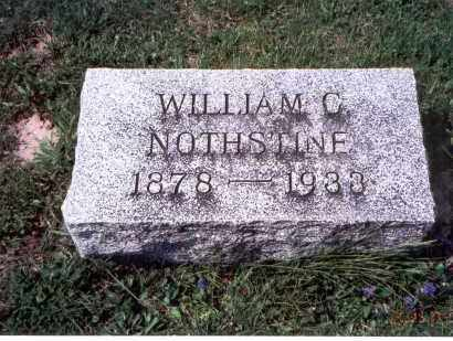 NOTHSTINE, WILLIAM C. - Pickaway County, Ohio | WILLIAM C. NOTHSTINE - Ohio Gravestone Photos