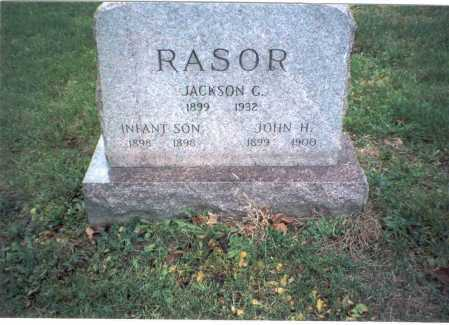 RASOR, JOHN H - Pickaway County, Ohio | JOHN H RASOR - Ohio Gravestone Photos