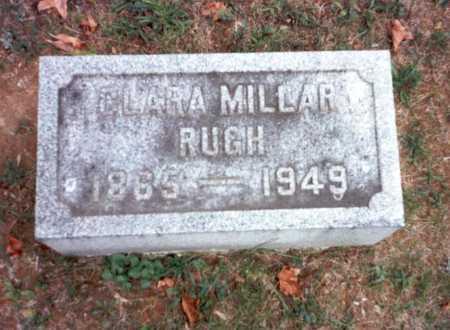MILLAR RUGH, CLARA - Pickaway County, Ohio | CLARA MILLAR RUGH - Ohio Gravestone Photos