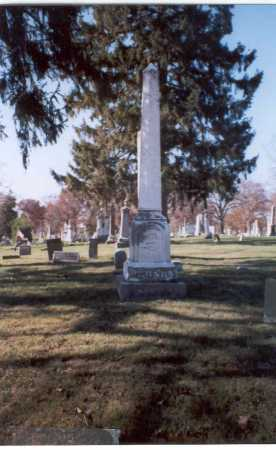 RUSH, MONUMENT - Pickaway County, Ohio   MONUMENT RUSH - Ohio Gravestone Photos