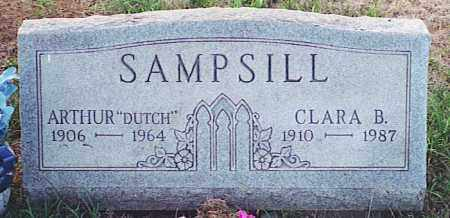SAMPSILL, CLARA B. - Pickaway County, Ohio | CLARA B. SAMPSILL - Ohio Gravestone Photos