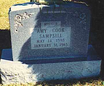 COOK SAMPSILL, AMY - Pickaway County, Ohio | AMY COOK SAMPSILL - Ohio Gravestone Photos