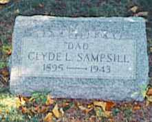 SAMPSILL, CLYDE - Pickaway County, Ohio | CLYDE SAMPSILL - Ohio Gravestone Photos