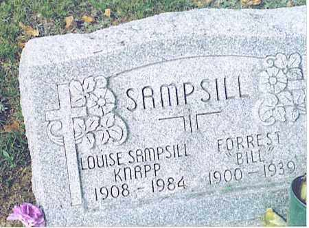"SAMPSILL, FORREST ""BILL"" - Pickaway County, Ohio 