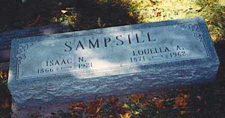 SAMPSILL, LOUELLA - Pickaway County, Ohio | LOUELLA SAMPSILL - Ohio Gravestone Photos