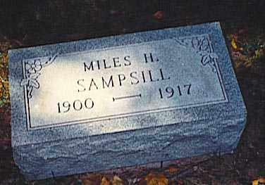 SAMPSILL, MILES H. - Pickaway County, Ohio | MILES H. SAMPSILL - Ohio Gravestone Photos