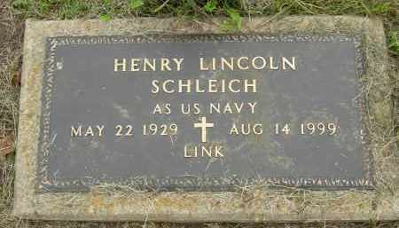 "SCHLEICH, HENRY ""LINK"" LINCOLN - Pickaway County, Ohio 