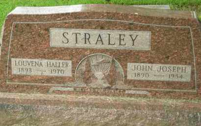 HALLER STRALEY, LOUVENA - Pickaway County, Ohio | LOUVENA HALLER STRALEY - Ohio Gravestone Photos