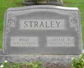 HAYES STRALEY, JESSIE D - Pickaway County, Ohio | JESSIE D HAYES STRALEY - Ohio Gravestone Photos