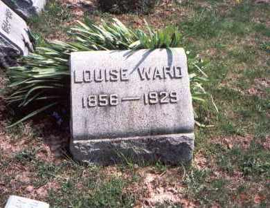 WARD, LOUISE - Pickaway County, Ohio | LOUISE WARD - Ohio Gravestone Photos