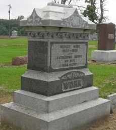 WORK, WESLEY - Pickaway County, Ohio | WESLEY WORK - Ohio Gravestone Photos