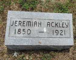 ACKLEY, JEREMIAH - Pike County, Ohio | JEREMIAH ACKLEY - Ohio Gravestone Photos