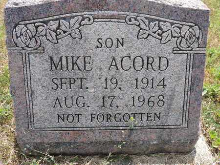 ACORD, MIKE - Pike County, Ohio | MIKE ACORD - Ohio Gravestone Photos