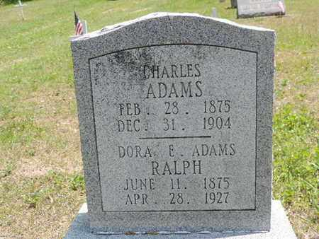 ADAMS, DORA E. - Pike County, Ohio | DORA E. ADAMS - Ohio Gravestone Photos
