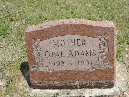ADAMS, OPAL - Pike County, Ohio | OPAL ADAMS - Ohio Gravestone Photos