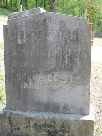 ALDERMAN, A. R. - Pike County, Ohio | A. R. ALDERMAN - Ohio Gravestone Photos