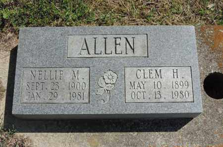 ALLEN, NELLIE M. - Pike County, Ohio | NELLIE M. ALLEN - Ohio Gravestone Photos