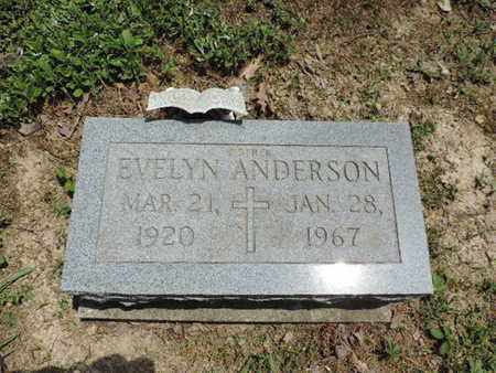 ANDERSON, EVELYN - Pike County, Ohio | EVELYN ANDERSON - Ohio Gravestone Photos