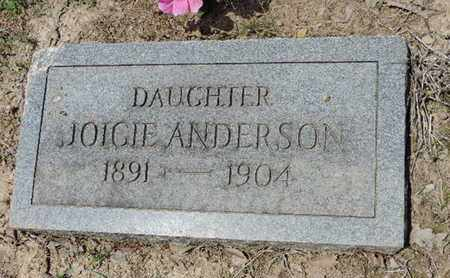 ANDERSON, JOICIE - Pike County, Ohio | JOICIE ANDERSON - Ohio Gravestone Photos