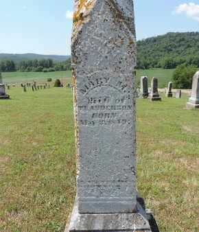 ANDERSON, MARY M. - Pike County, Ohio   MARY M. ANDERSON - Ohio Gravestone Photos