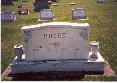 ANDRE', LA VERNE - Pike County, Ohio | LA VERNE ANDRE' - Ohio Gravestone Photos