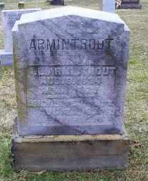 ARMINTROUT, ANGELINE - Pike County, Ohio | ANGELINE ARMINTROUT - Ohio Gravestone Photos