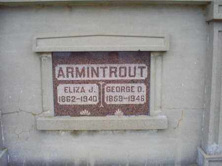 ARMINTROUT, ELIZA J. - Pike County, Ohio | ELIZA J. ARMINTROUT - Ohio Gravestone Photos