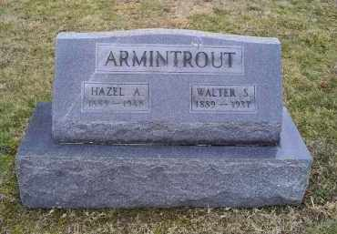ARMINTROUT, HAZEL A. - Pike County, Ohio | HAZEL A. ARMINTROUT - Ohio Gravestone Photos
