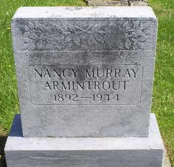 MURRAY ARMINTROUT, NANCY - Pike County, Ohio | NANCY MURRAY ARMINTROUT - Ohio Gravestone Photos